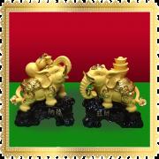 ช้างคู่ ทอง