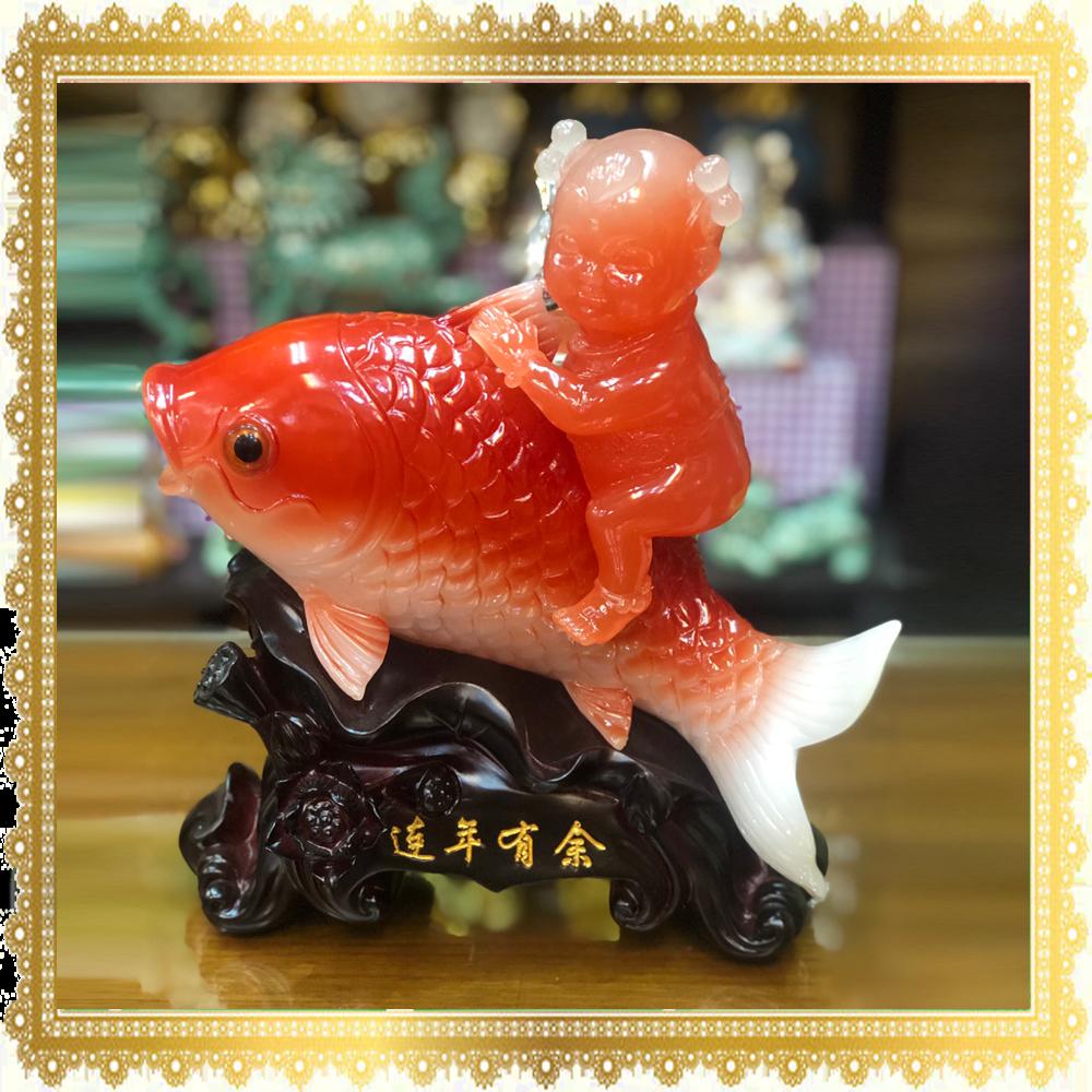 ปลาหลีฮื้อกับเด็ก มีกินมีใช้ตลอดปี