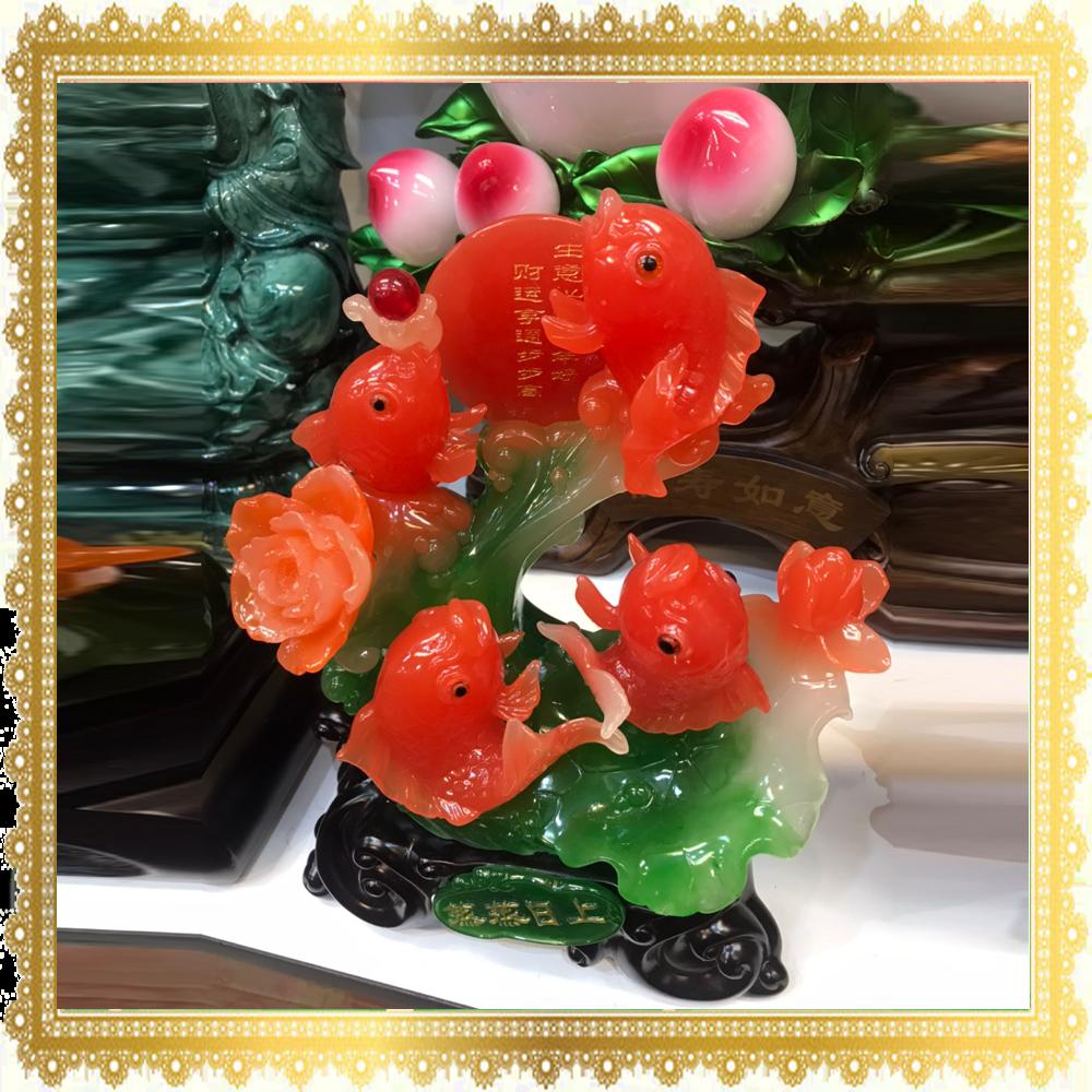 ปลาหลีฮื้อแดง 4 ตัว