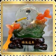 ปลาส้มคู่พระจันทร์สีหยก 2
